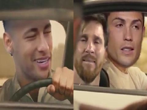 Chế: Neymar chia đôi ngả đường với Messi, Ronaldo