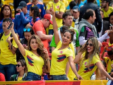 Trở về sau World Cup 2018, dàn sao Colombia được chào đón như... U23 Việt Nam