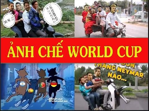 Những ảnh chế World Cup 2018 'siêu bá đạo' và hài hước!