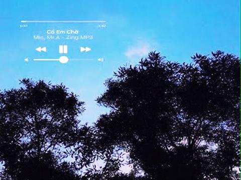 Hướng dẫn chèn lời bài hát từ Zingmp3 vào hình ảnh đẹp bằng điện thoại