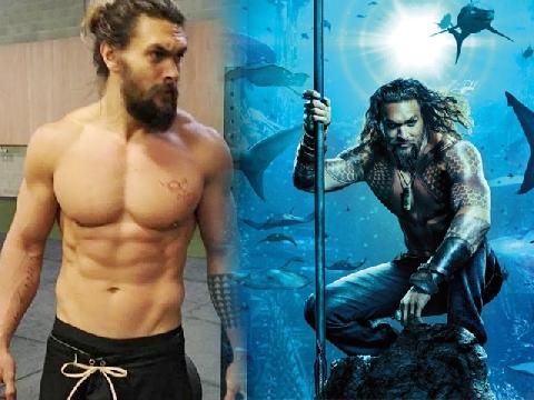 'Toát mồ hôi' với body gợi cảm của 'vua biển cả' Aquaman