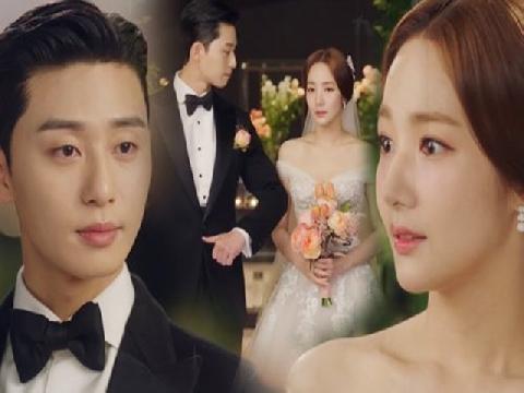 Ngắm lại hôn lễ của cặp đôi 'Thư Ký Kim', fan vừa vui vừa buồn vì phim đã hết