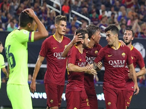 Barca 2-4 Roma (International Champions Cup 2018)