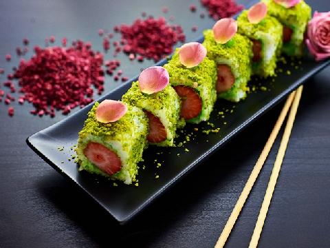 Đổi vị với món sushi trái cây đẹp mắt