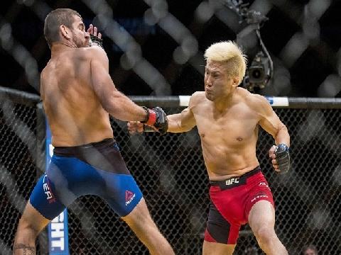 Võ sĩ MMA Nhật Bản tung mưa đấm knock-out đối thủ
