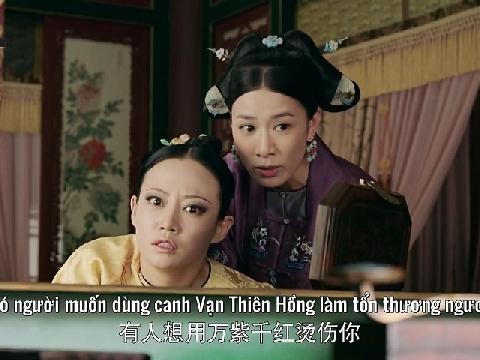 Clip: Nhàn Phi nắm tóc 'xử đẹp' Cao Quý Phi trong 'Diên Hi Công Lược'