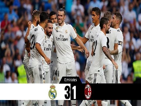 Real Madrid 3-1 AC Milan (Bernabeu Cup)