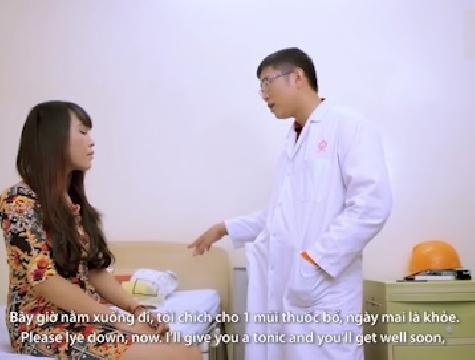 Tiểu phẩm hài: Giả danh bác sĩ