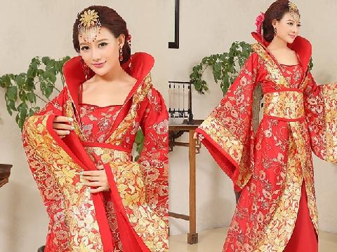 Tận mắt cực phẩm áo cưới truyền thống của các nước châu Á