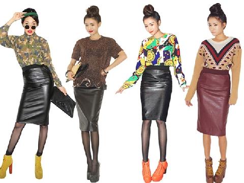 4 kiểu mix chân váy đa phong cách cho nàng thêm nổi bật