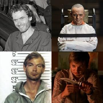 Chân dung 3 kẻ sát nhân khét tiếng có thật được làm thành phim