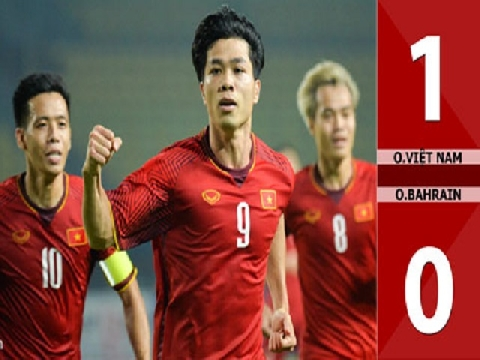 Olympic Việt Nam 1-0 Olympic Bahrain (Vòng 1/8 ASIAD 2018)
