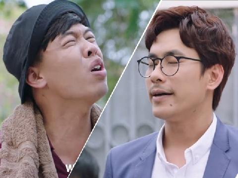Trung Ruồi la mắng Kiều Minh Tuấn trong phim hài 'Chú Ơi Đừng Lấy Mẹ Con'