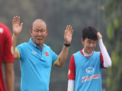 HLV Park Hang Seo nói lời tâm huyết với học trò sau cuộc khổ chiến Bahrain