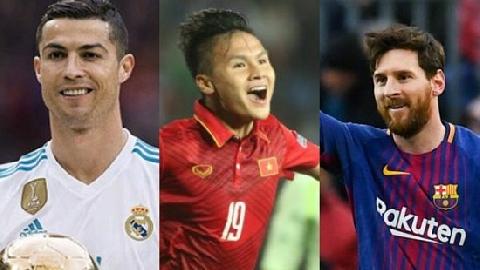 Chế: Messi, Muller cảm phục tinh thần thi đấu của Olympic VN