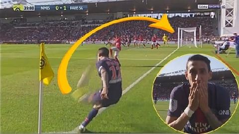 Kinh ngạc với bàn thắng từ chấm phạt góc của Di Maria