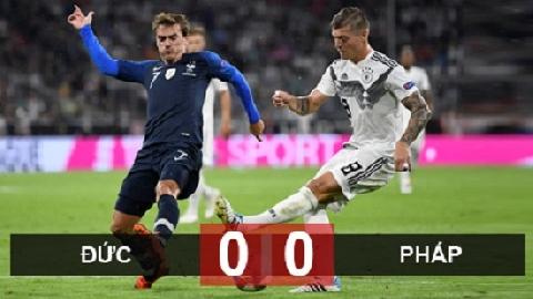 Đức 0-0 Pháp (UEFA Nations League)