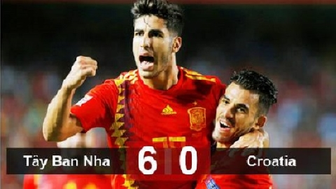 Tây Ban Nha 6-0 Croatia (UEFA Nations League)