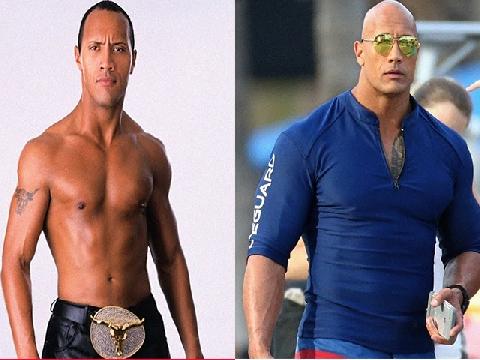 Đây là lý do vì sao Dwayne Johnson có tên là The Rock!