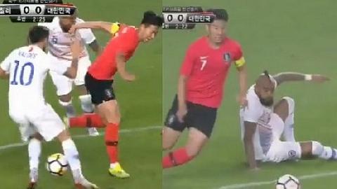 Son Heung-min xâu kim cầu thủ Chile cực siêu đẳng!