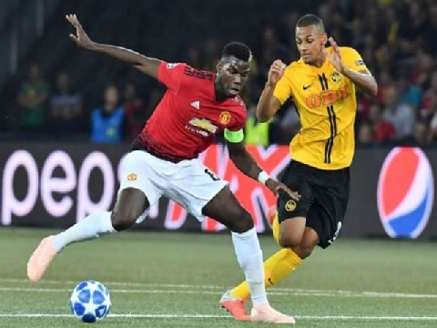 Young Boys 0-3 Man Utd (Bảng H Champions League)