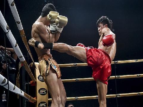 Võ sĩ Duy Nhất thắng áp đảo võ sĩ Trung Quốc ở giải châu Á