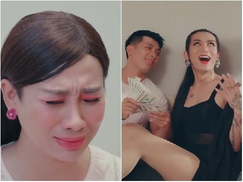 Hải Triều đau khổ mách mẹ chuyện BB Trần lén đi làm ''gái ngành''