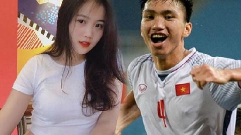 Nhan sắc 'vạn người mê' của bạn gái Đoàn Văn Hậu U23 Việt Nam