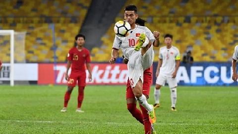 SAO U16 Việt Nam lập siêu phẩm đá phạt tuyệt đỉnh