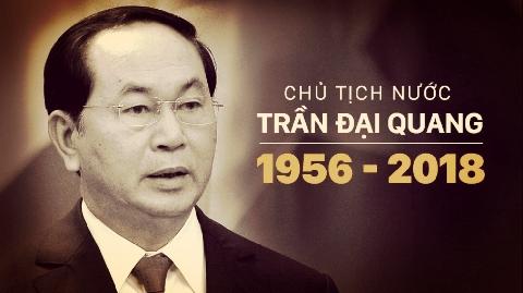 Lễ viếng Chủ tịch nước Trần Đại Quang tại quê hương Ninh Bình