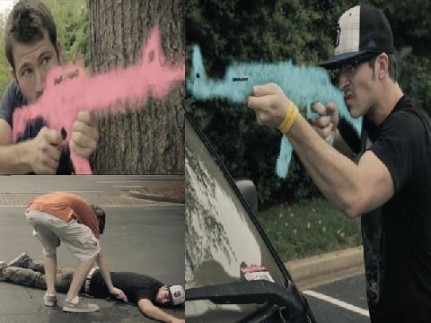 Phim ngắn đấu súng 'hút' 20 triệu lượt xem trên Youtube