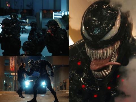 Rò rỉ clip: Ác nhân Venom hạ cả biệt đội cảnh sát trong '1 nốt nhạc'
