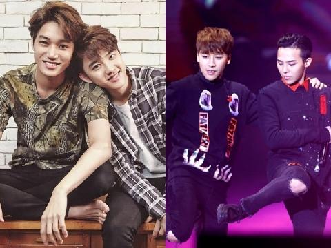 Những idol nam của các nhóm nhạc Kpop từng ghét nhau ra mặt