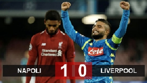 Napoli 1-0 Liverpool (bảng C Champions League 2018/19)