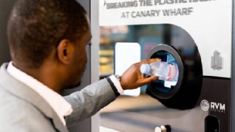 Máy đổi rác thành tiền