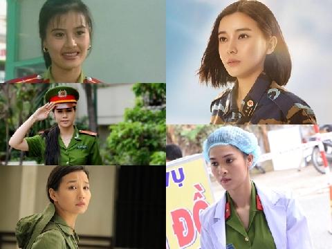 5 nữ quân nhân gây thương nhớ khắp màn ảnh Việt