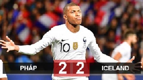 Pháp 2-2 Iceland (giao hữu quốc tế 2018)