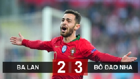 Ba Lan 2-3 Bồ Đào Nha (UEFA Nations League)