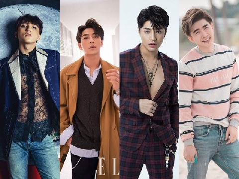 Ngắm 6 ca sĩ điển trai, vạn người mê của Vpop