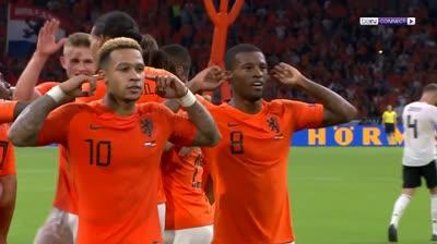 Hà Lan 3-0 Đức (Nations League)