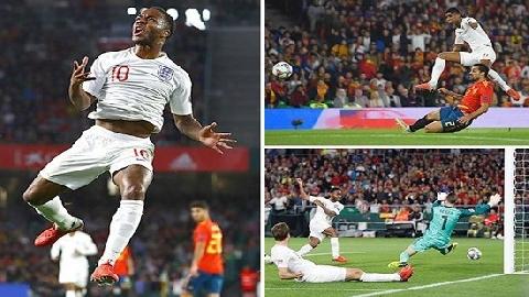 Tây Ban Nha 2-3 Anh (UEFA Nations League)