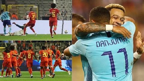 Bỉ 1-1 Hà Lan (giao hữu quốc tế)