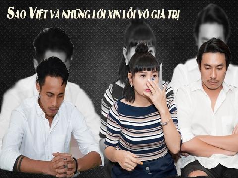 Sao Việt và những lời xin lỗi vô giá trị