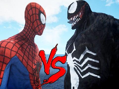 Cuộc chiến của Spider-man và Venom trên phim khác thực tế ra sao