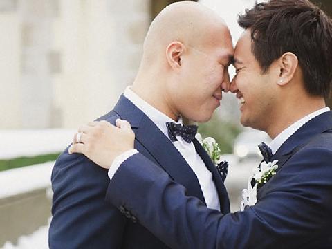 Những đám cưới đồng tính nổi tiếng nhất châu Á