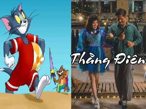 [Chế] Tom và Jerry đóng MV 'Thằng Điên' cực hay