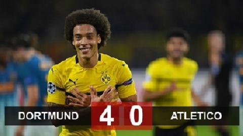 Dortmund 4-0 Atletico (Vòng bảng Champions League 2018/19)