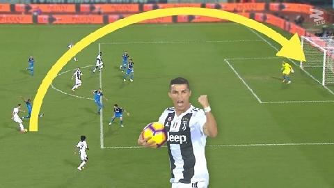Top bàn thắng từ những cú nã đại bác tầm xa của Ronaldo
