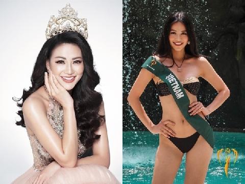 Cận cảnh thân hình bốc lửa khi mặc bikini của tân hoa hậu Trái Đất người Việt