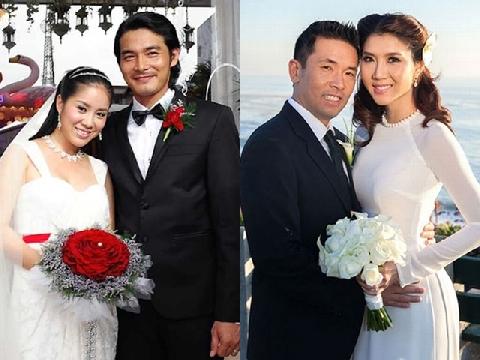 """Showbiz Việt và những cuộc hôn nhân """"yêu nhanh, cưới vội, chia tay bất ngờ"""""""